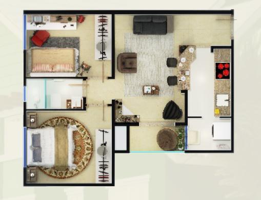 ApartamentoVenda em Canela no bairro Beco da Alegria