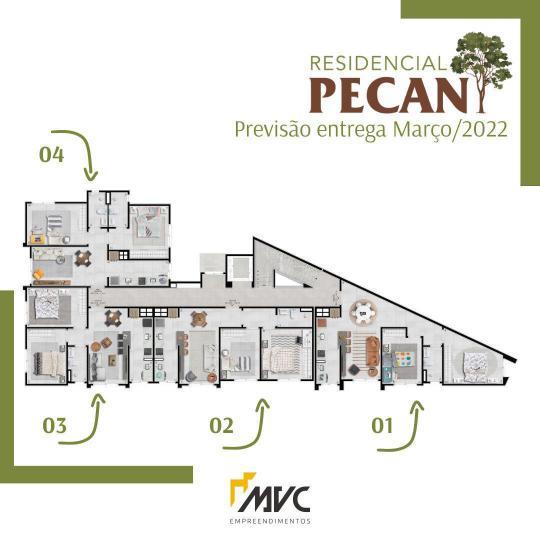 ApartamentoVenda em Cachoeira do Sul no bairro Barcelos