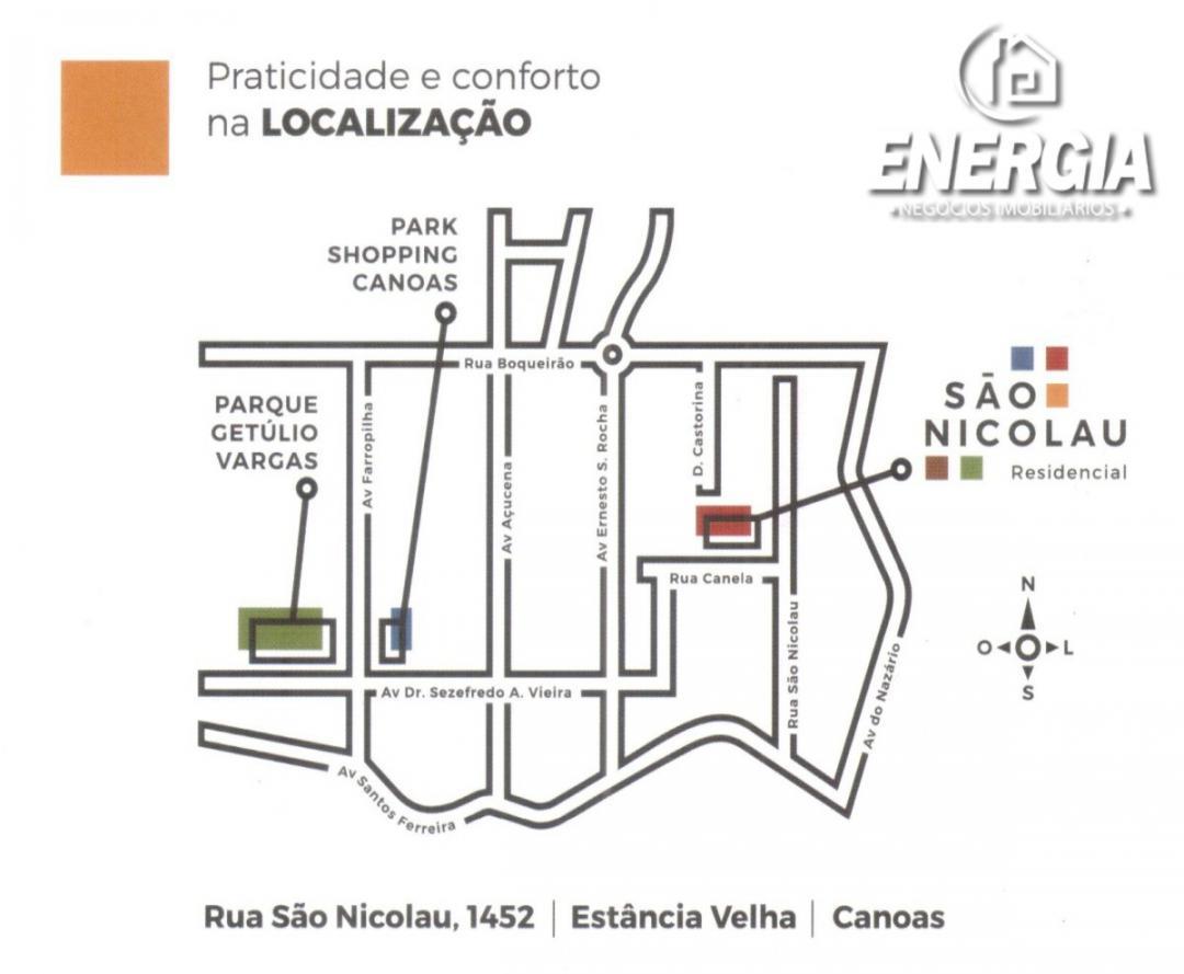 Apartamento Venda em Canoas no bairro Estância Velha