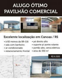Deposito / galpão / pavilhãoAluguel em Canoas no bairro Niterói