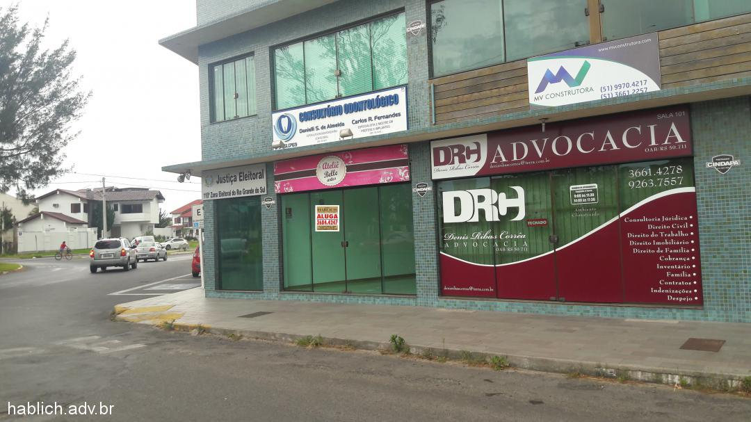 Sala comercial para Aluguel em Tramandaí no bairro Zona Nova